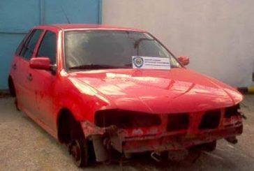Polimiranda recuperó carro desvalijado