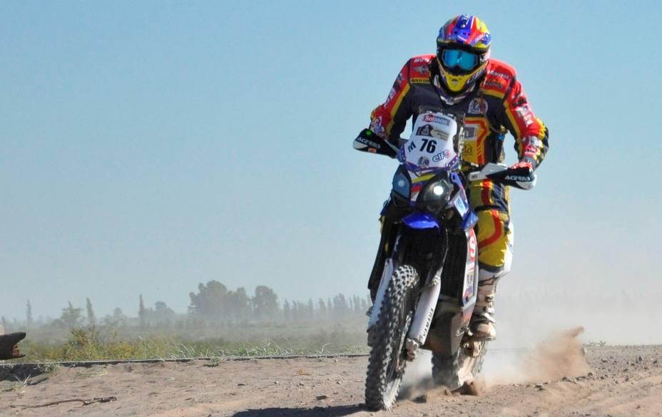 Nicolás Cardona prosigue su ascenso en el Dakar
