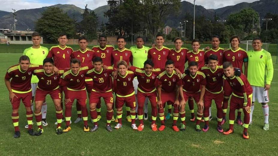 Vinotinto Sub-20 cerró invicta su gira por Bogotá