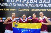 Baloncesto venezolano 3X3 obtiene nueva clasificación mundial