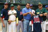 Juan Cruz le dio un paseo a Norjosé en softbol empresarial