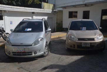 Polimiranda recupera dos vehículos en Los Teques
