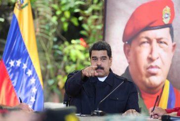 Maduro instala el Comando Nacional Antigolpe antes de partir a Nicaragua