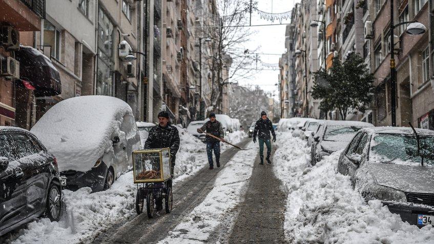 Ola de frío en Europa ha provocado más de 50 muertes
