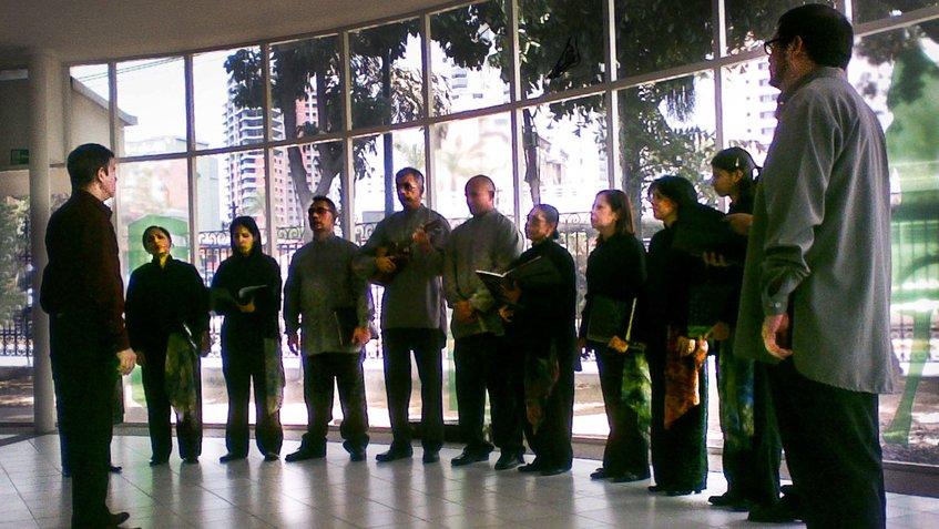El Grupo Vocal Quibure despide la navidad este domingo