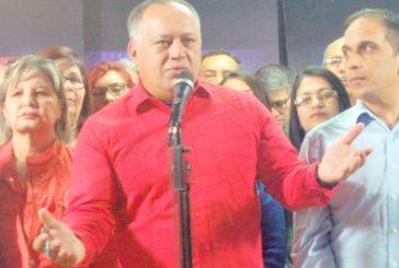 Cabello: ni elección generales, ni abandono de cargo, lo que hay es revolución