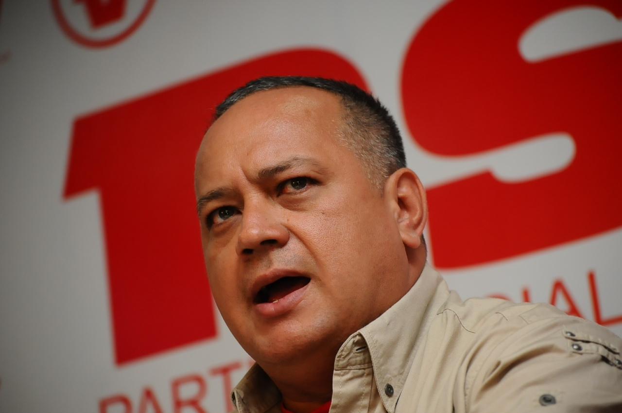 Cabello: Maduro no ha abandonado el cargo ni lo va a abandonar