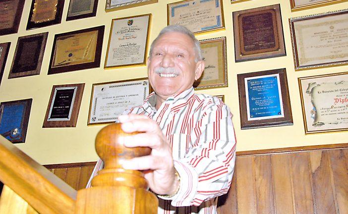 Félix Fariñas, un docente de espíritu luchador