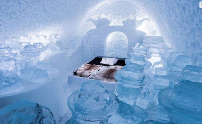 Ahora el Ice Hotel en Suecia abrirá durante todo el año