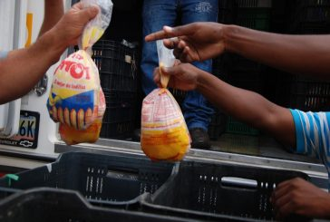 Llevaron 6.200 kilos de pollo a tres sectores