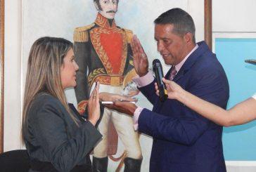 Katherine Rodríguez asume la presidencia del Concejo Municipal de Carrizal