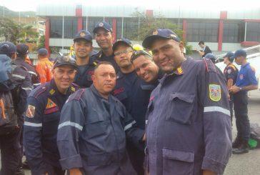 Bomberos mirandinos viajan a Chile a combatir incendios forestales