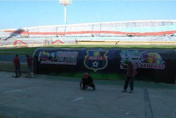 Casi listas las reparaciones del estadio Pachencho Romero