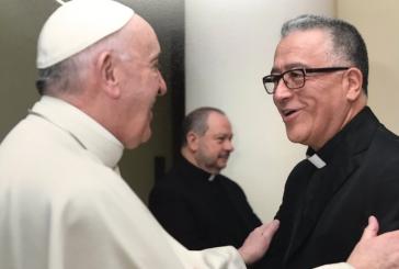 Padre venezolano Numa Molina se reunió con el Papa Francisco