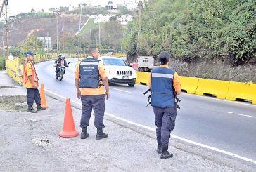 Desplegados en la Panamericana
