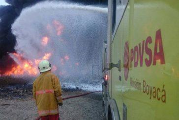 Pdvsa inició investigaciones sobre explosión de oleoducto en Barinas