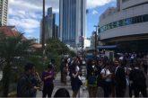 Desalojan edificios de Ciudad de Panamá por sismo de magnitud 5.0
