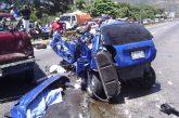 Tres lesionados tras colisión en la ARC