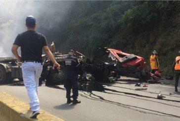 Cinco muertos deja accidente en la ARC