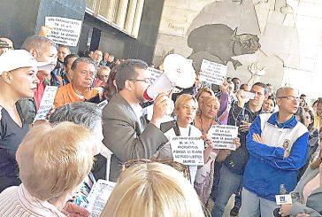 Trabajadores de la AN reclaman sus salarios
