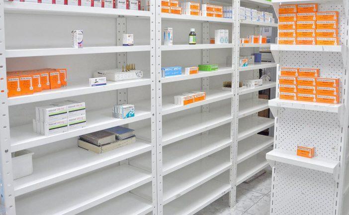 Cayó 30% la producción de medicinas
