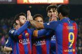 Messi hizo dos goles en la sufrida victoria ante Leganés