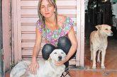 Joselyn Linares, una muestra de solidaridad canina