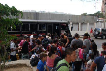 Imploran por mejoras en el transporte de Lagunetica