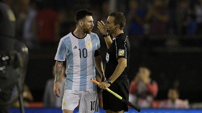 Lionel Messi suspendido por cuatro partidos