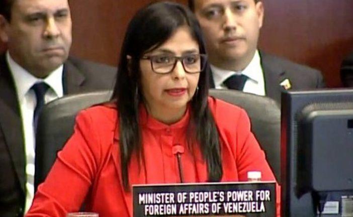 Delcy Rodríguez: Almagro ha dedicado su gestión en agredir a Venezuela