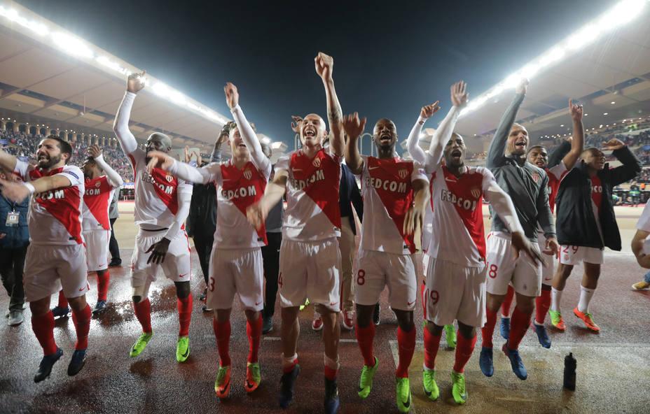 El Mónaco remontó para eliminar al Manchester City de la Liga de Campeones