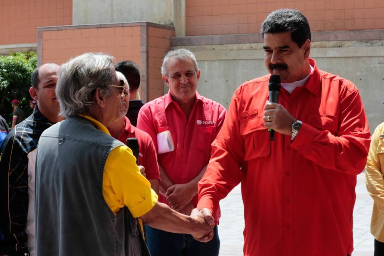 """Maduro aseguró que la """"revolución"""" seguirá con o sin la OEA"""