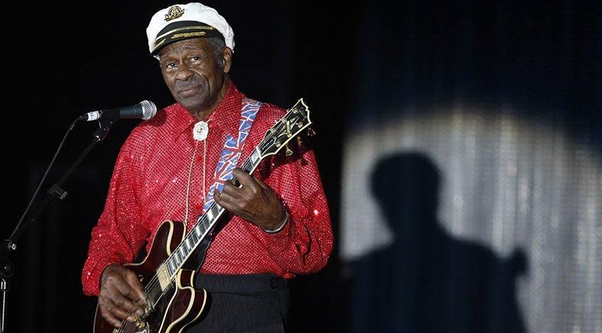 Murió Chuck Berry, uno de los grandes padrinos del rock and roll