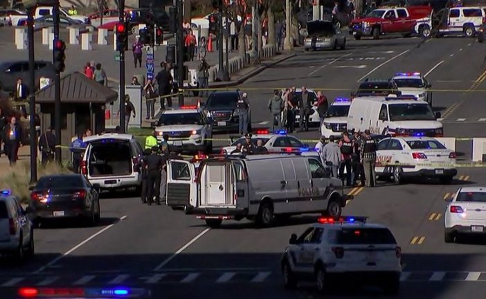 Hombre intentó atropellar a policías del Congreso de EEUU