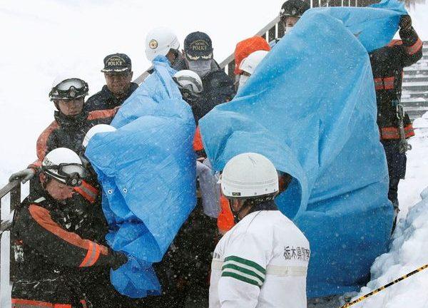 Avalancha de nieve en Japón deja 8 muertos y 30 heridos
