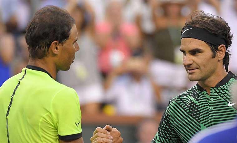 Un Federer pletórico eliminó a Nadal de Indian Wells