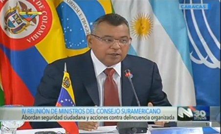 Ministro Reverol instaló IV Reunión de Ministros del Consejo Suramericano de Seguridad