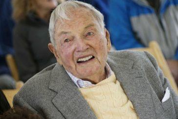 Multimillonario David Rockefeller muere a los 101 años