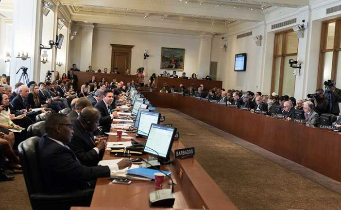 Consejo Permanente de la OEA culminó sesión sobre situación de Venezuela sin acuerdos