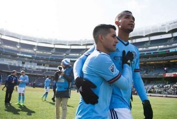 Yangel Herrera debutó en victoria del New York City