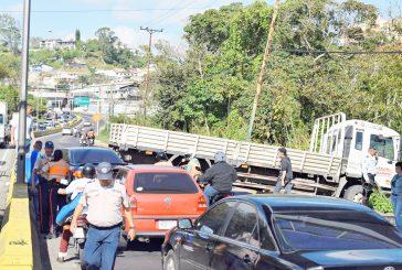 Colisión en el km 24 de la Panamericana