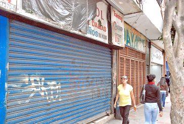 Comerciantes bajan sus santamarías por falta de mercancía