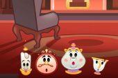 Disney lanza La Bella y la Bestia en emojis