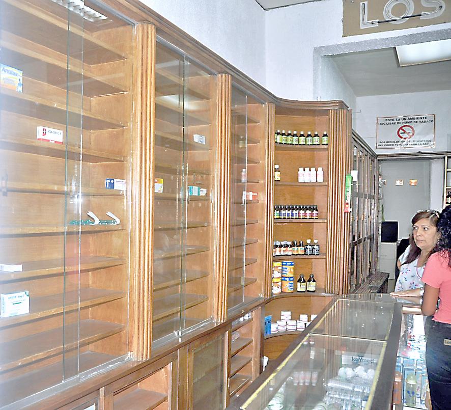 Farmacias sin variedad en protectores gástricos