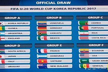 Venezuela enfrentará a Alemania, Vanuatu y México en el Mundial Sub 20