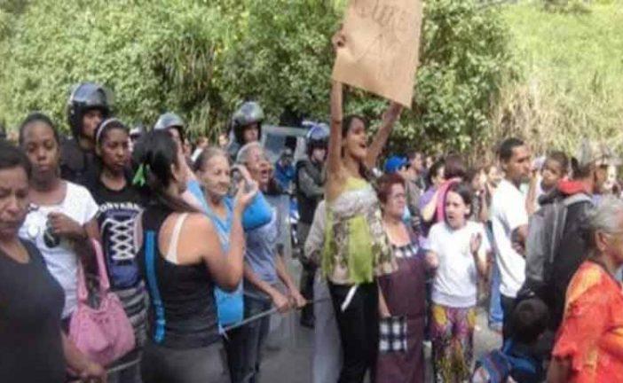 Protestaron en la Trabuco por falta de agua