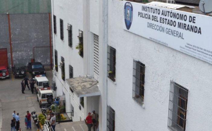Policías mirandinos exigen pago a la Gobernación