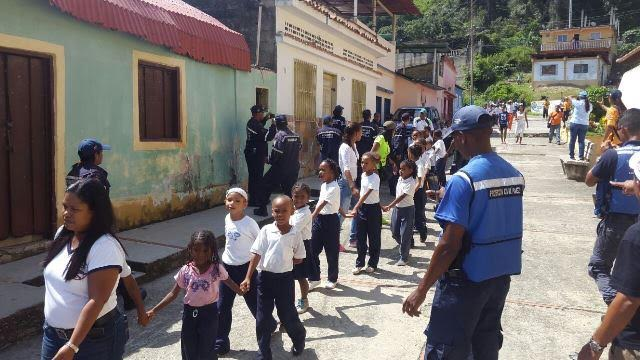 """Casi dos mil personas fueron evacuadas en Chirimena durante simulacro de tsunami """"Caribe Wave 2017"""""""