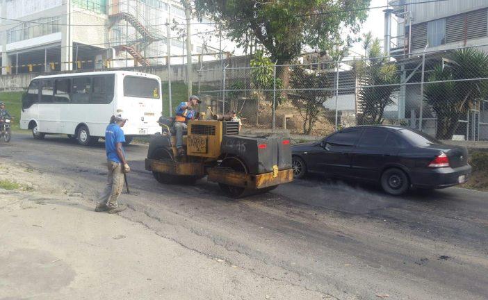 120 toneladas de asfalto fueron colocados en vialidades carrizaleñas
