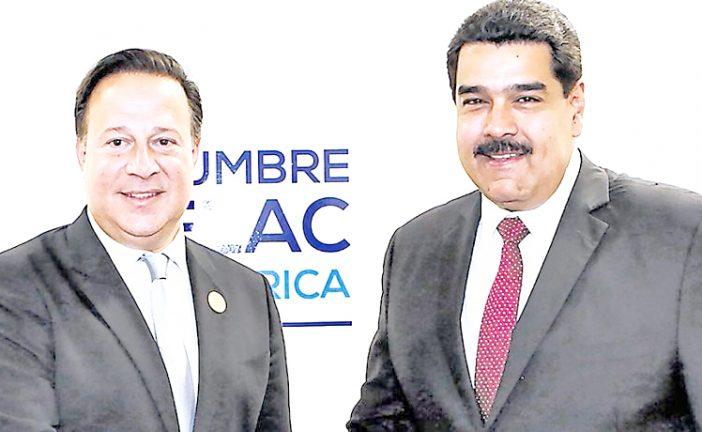 Maduro habló de la OEA con Peña Nieto y Varela